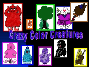 crazy color creatures
